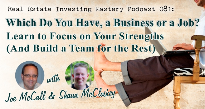 081 - Which do you have a business or a job