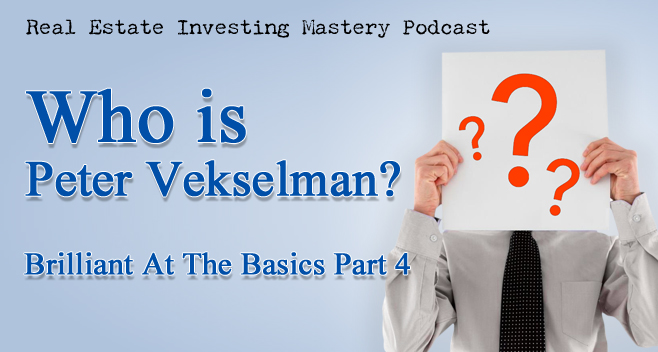Brilliant at the Basics 4 - Who is Peter Vekselman