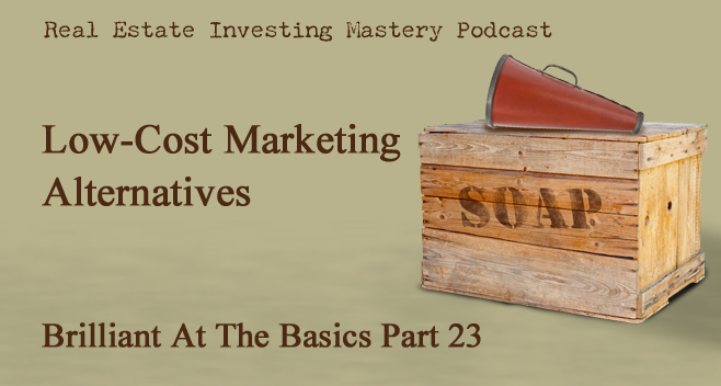Brilliant at the Basics 23 - Low-Cost Marketing Alternatives