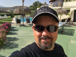 Joe McCall in Spain