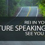 REI In Your Car: Future Speaking Gigs – See You There?!