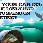 REI In Your Car 123: What if I only Had $1000 to Spend on Marketing?