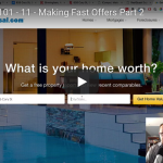 Wholesaling 101 – Part 11 – Making Fast Offers, Part 2