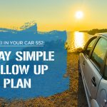 552 » 7 Day Simple Follow Up Plan » REI In Your Car