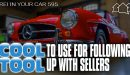 595 » Cool Tool To Use When Following Up with Sellers » REI In Your Car