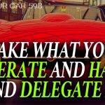 598 » Take What You Tolerate And Hate, And Delegate It » REI In Your Car