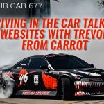 677 » Driving In The Car Talking Websites With Trevor From Carrot » REI In Your Car